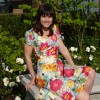 Floral Explosion Dress: Vogue 9668, again