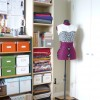 My sewing space, organized at last…
