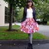 Summer Skirt in A Fall Outfit #2: Day Thirteen