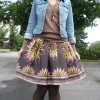 Summer Skirt in a Fall Outfit: Day Nine