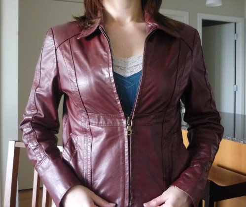 Fixing up an old leather jacket: Part 1 | Sewaholic