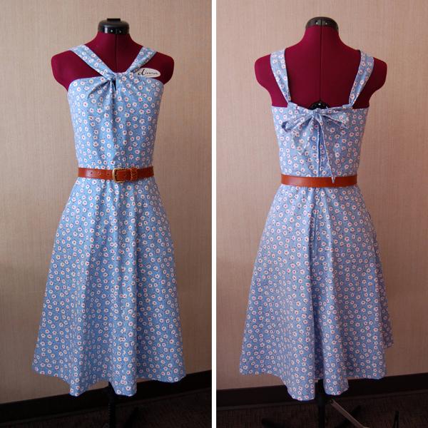 Lonsdale Sew-Along: My Finished Dress   Sewaholic