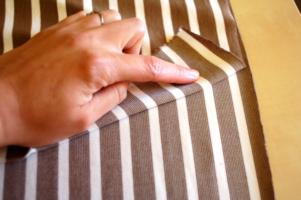 knit striped fabrics