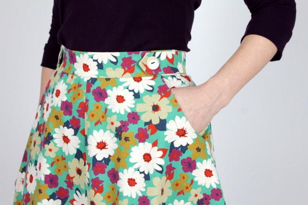 Introducing the next pattern...the Hollyburn Skirt!   Sewaholic