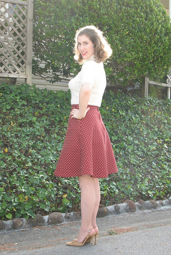 laura mae's hollyburn skirt