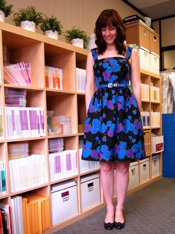 hazel dress from colette patterns