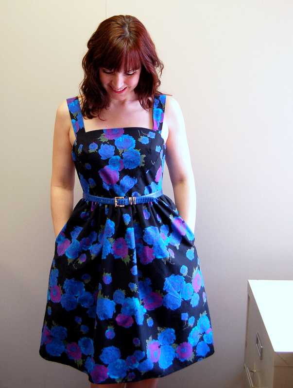 hazel dress from colette patterns