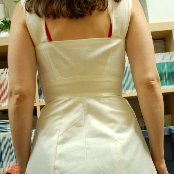 parfait muslin, from the back
