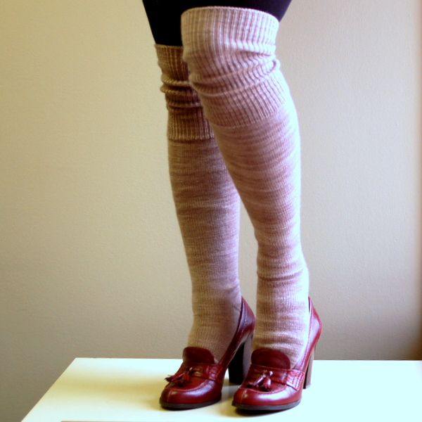 knee socks, over the knee knitted socks