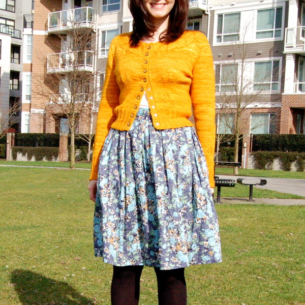 lauriel and gathered skirt