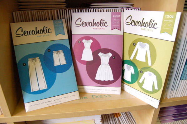 top selling sewaholic patterns