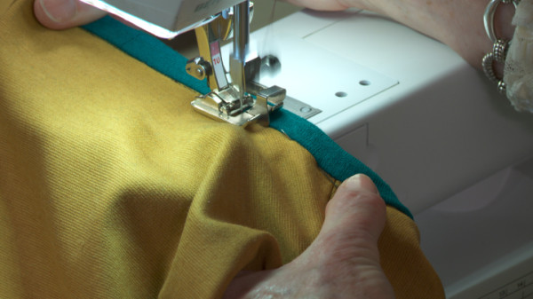 video of sewing with knits class