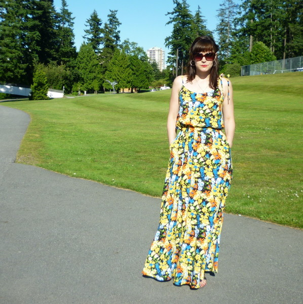 saltspring dress, sundress with pockets