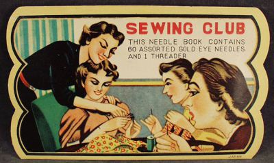 sewing club, stitch & bitch