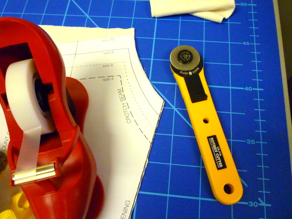 close cover on rotary cutter