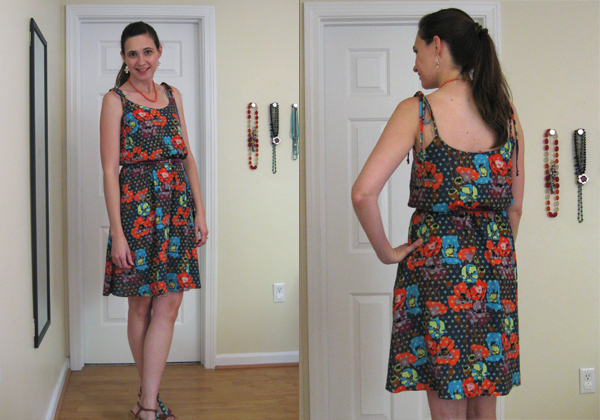 mad housewife saltspring dress