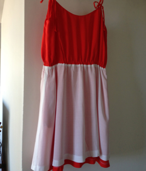 saltspring dress with skirt lining