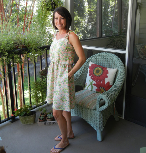 sew charleston saltspring dress