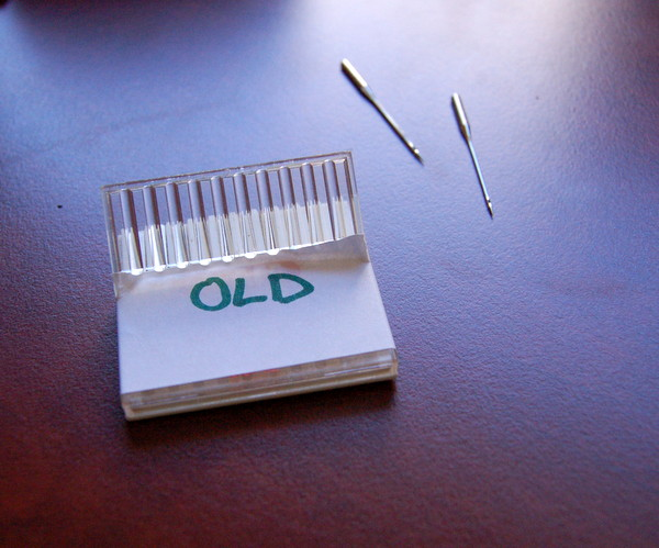 how to safely dispose of old needles
