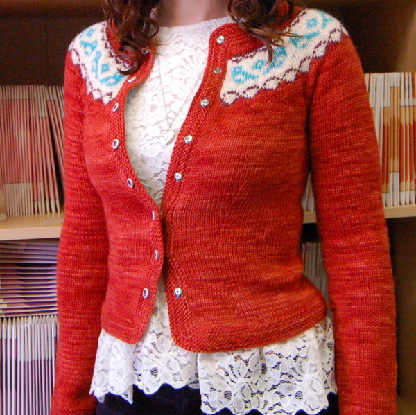 chickadee cardigan by ysolda