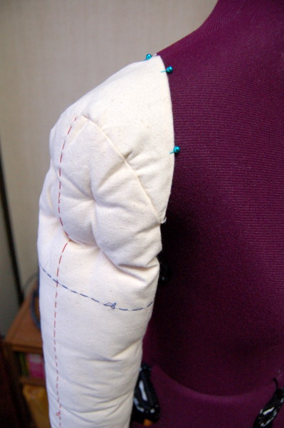 sleeve for dress form