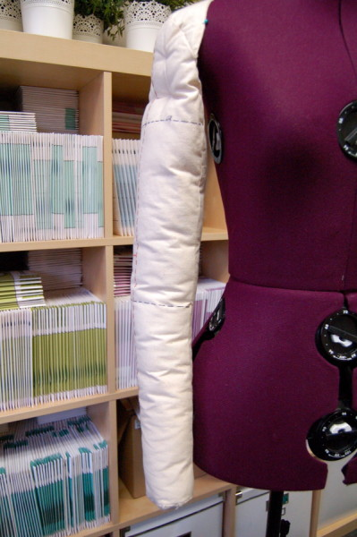 arm for dress form