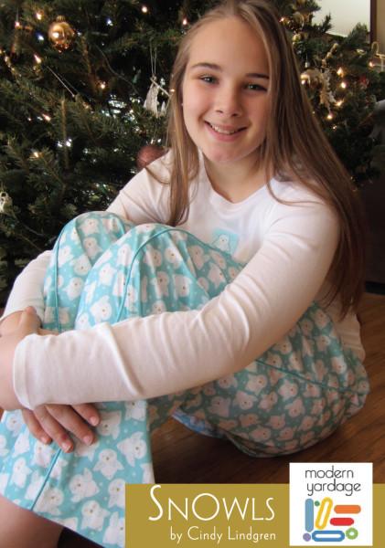 snowls pyjama pants