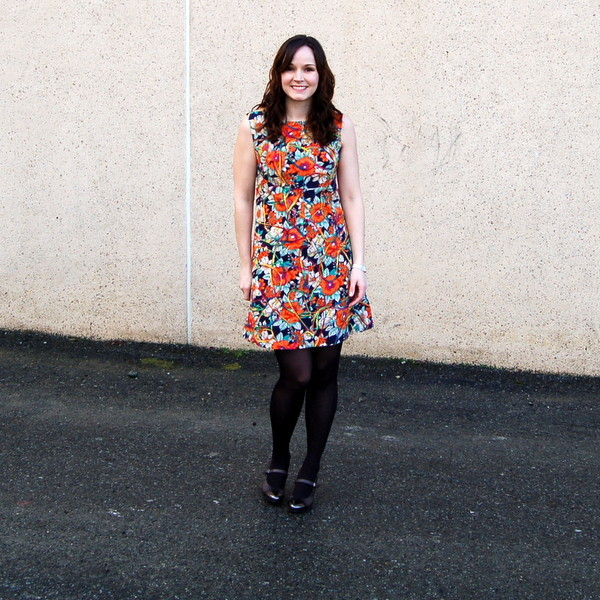 simplicity 8498 vintage dress pattern