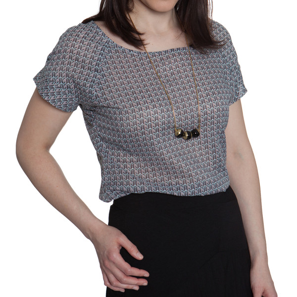 Also introducing the Belcarra Blouse! | Sewaholic