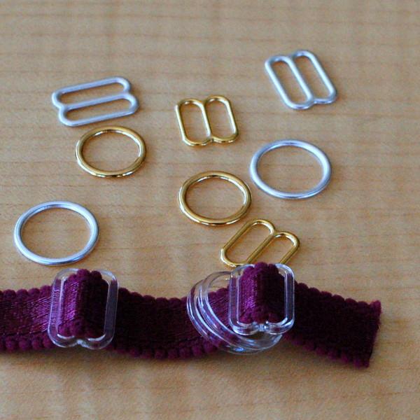 bra sliders and rings