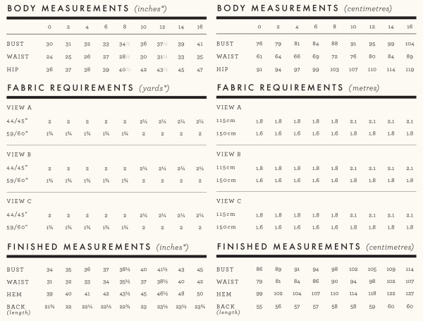 belcarra requirements and measurements