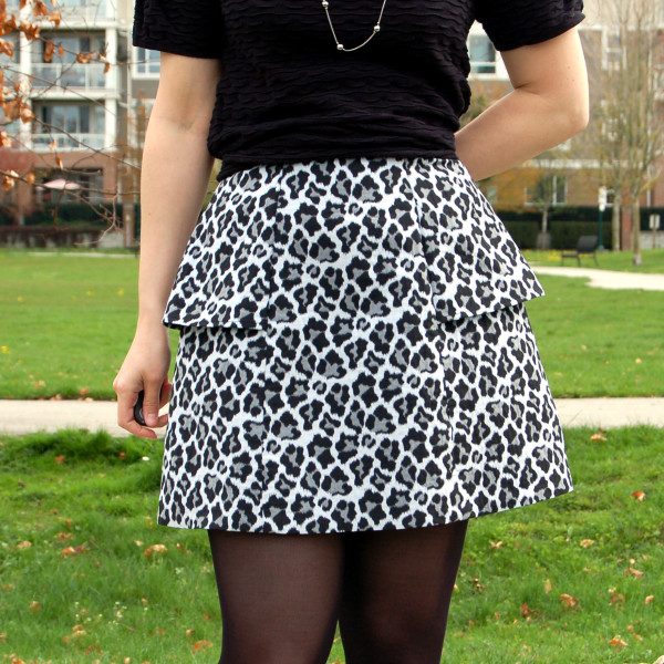 anemone skirt by deer and doe