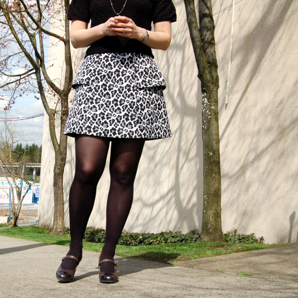 anemone skirt by deer and doe animal print 3