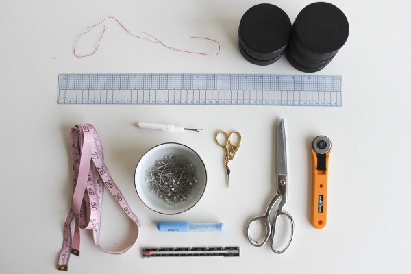 Yaletown Sew-Along Tools Needed