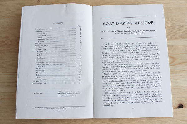 Coat Making at Home - 3