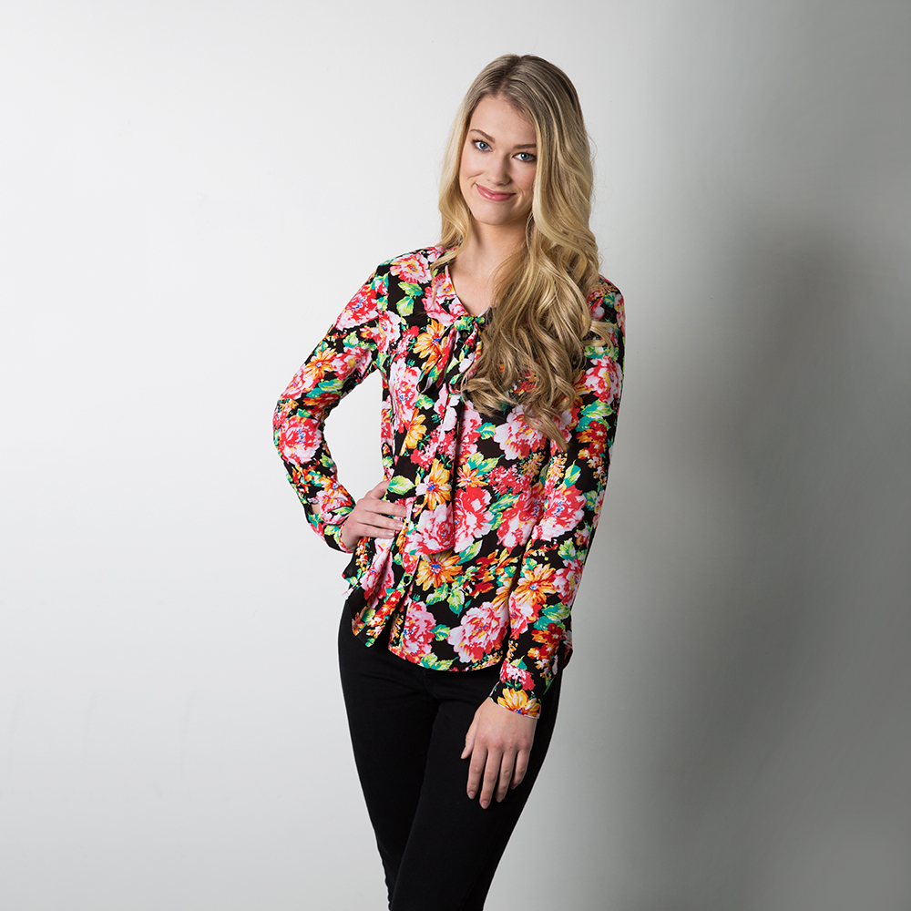 oakridge blouse by sewaholic patterns
