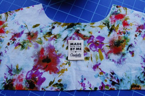 granville shirt sleeveless - label placment on yoke