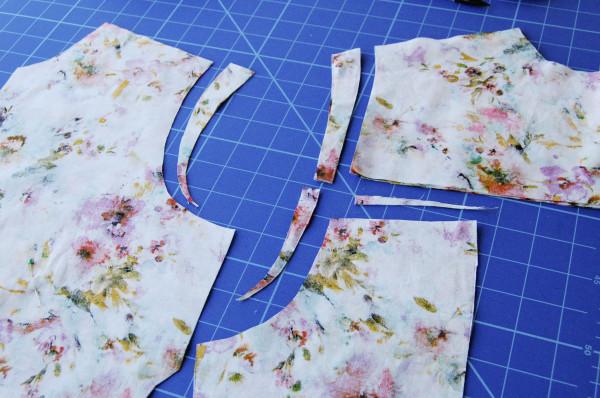granville shirt sleeveless - pattern adjustments