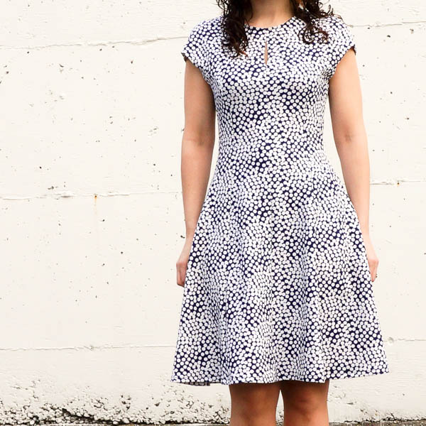 davie dress in polka dot knit-3