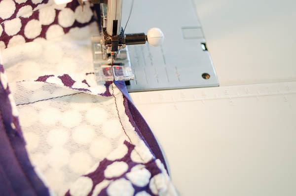 how to sew the davie dress neckline-11