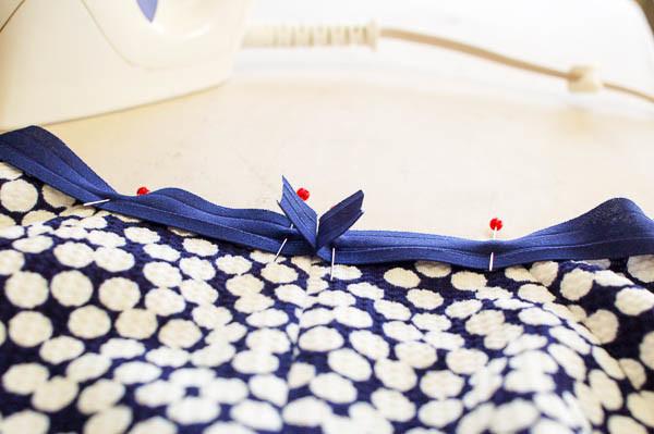 how to sew the davie dress neckline-5