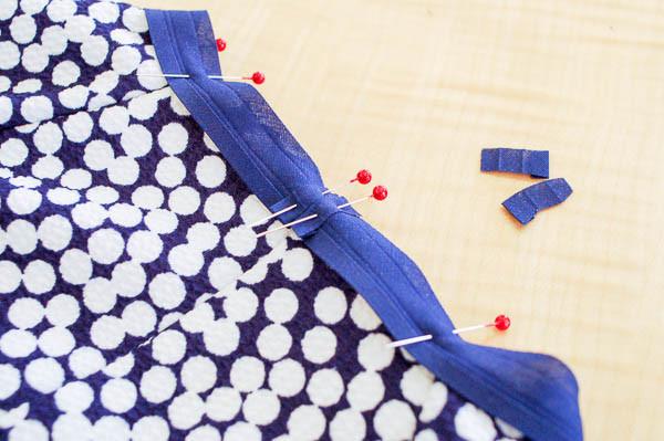 how to sew the davie dress neckline-7