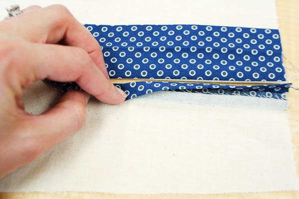 sewing a tailored shirt placket-11