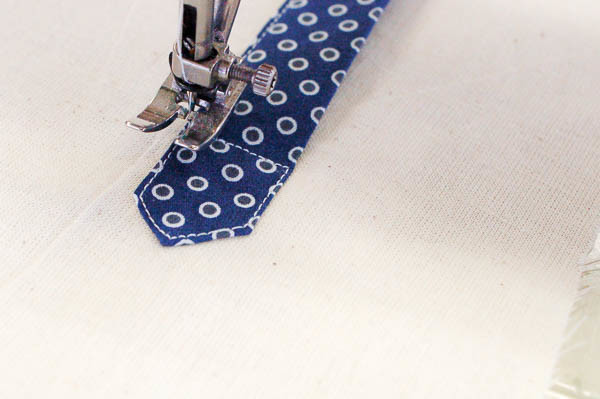 sewing a tailored shirt placket-23