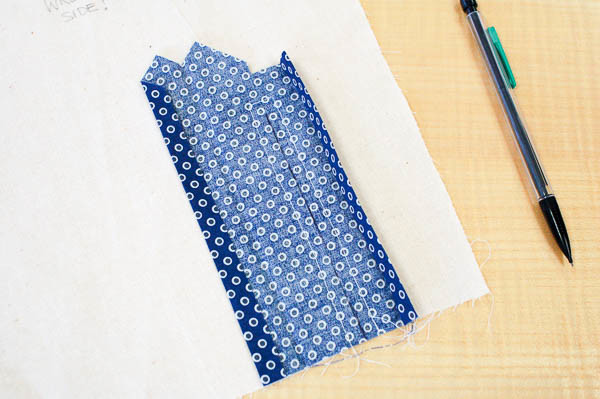 sewing a tailored shirt placket-6