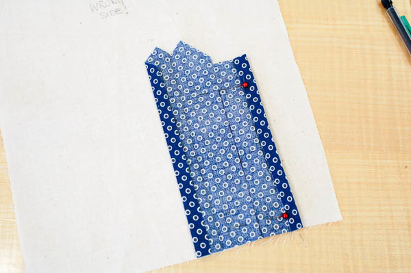 sewing a tailored shirt placket
