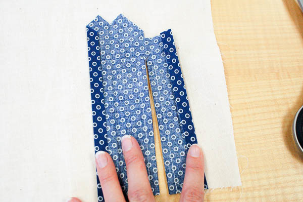 sewing a tailored shirt placket-7