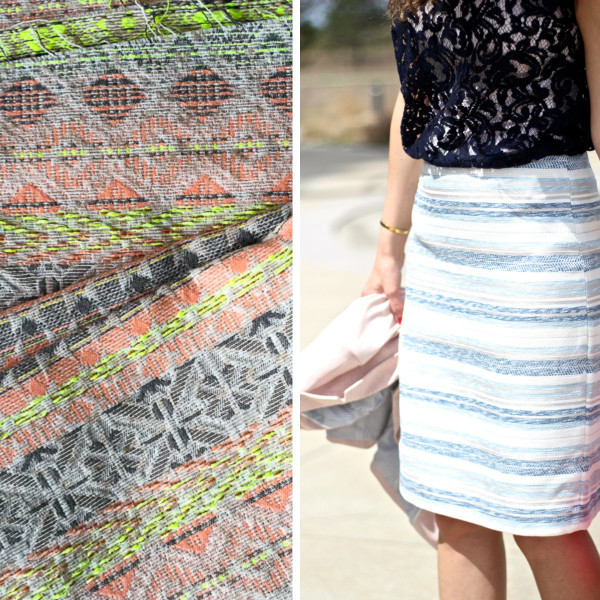 julija striped skirt plans