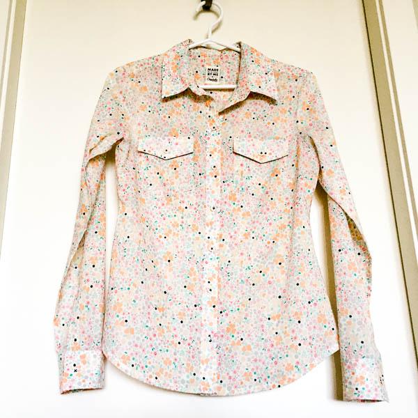 pastel voile granville shirt