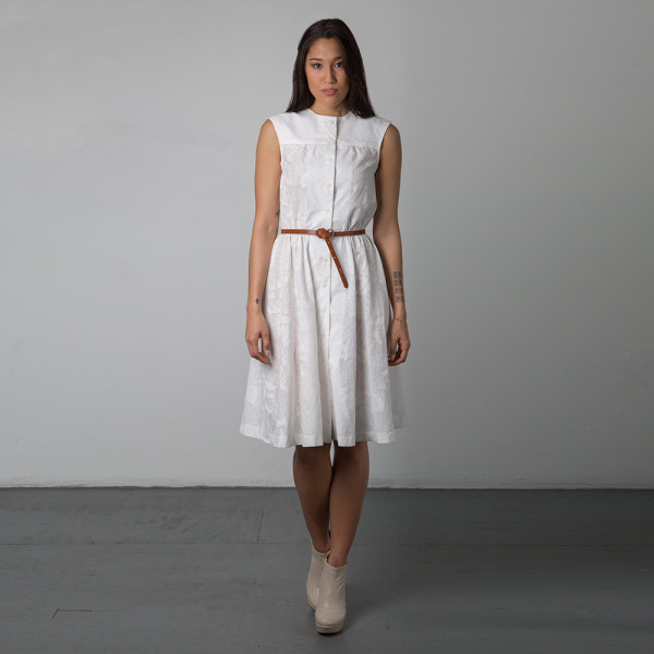 harwood dress in eyelet